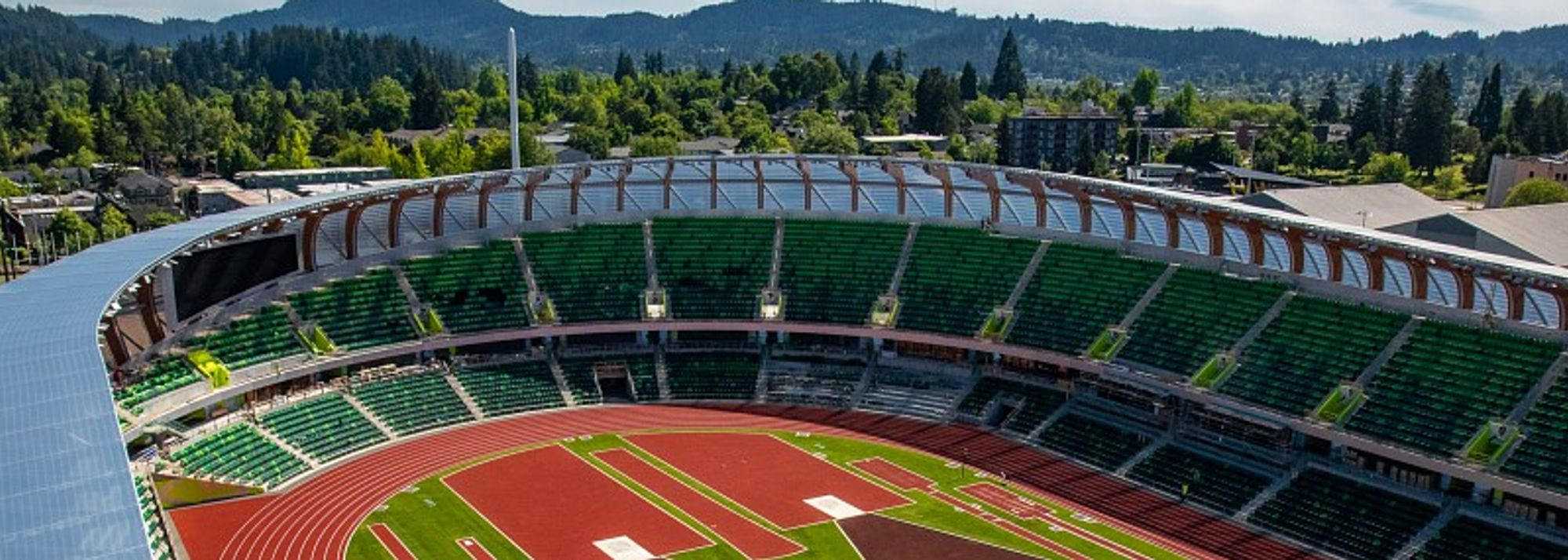 As Oregon track and field head coach Robert Johnson highlighted during this week's behind the scenes reveal, Hayward Field at the University of Oregon has so much to offer that listing all its facilities is not a quick job.