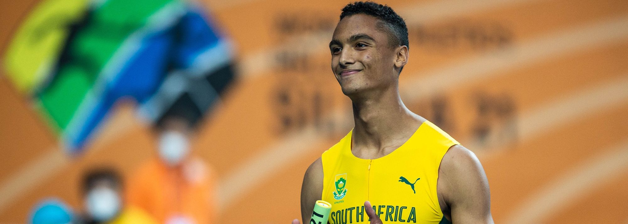 With 100 days to go until the World Athletics U20 Championships Nairobi 21, Lythe Pillay is one of his country's brightest prospects for gold.