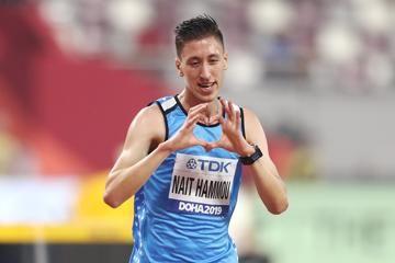 Athlete Refugee Team member Otmane Nait-Hammou