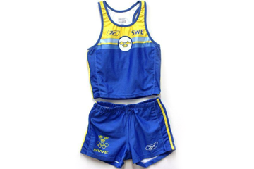 Carolina Kluft's kit from the 2004 Olympic Games