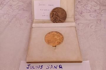 Kenyan Julius Sang's gold medal from the 4x400m relay from the 1972 Olympic Games